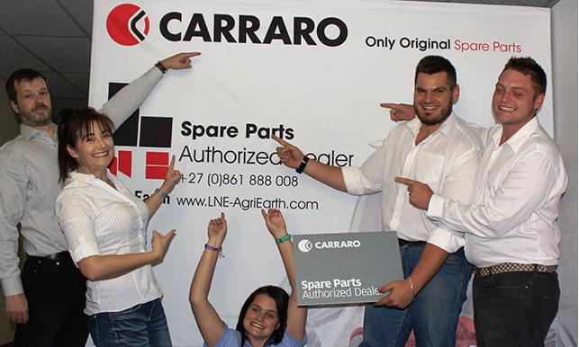 lne agri earth authorised carraro dealer